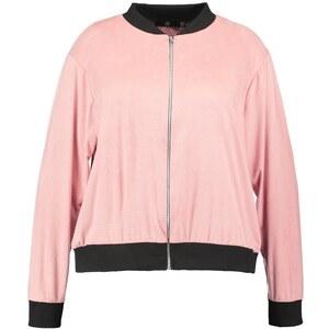 Missguided Plus Blouson Bomber pink