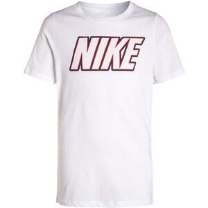 Nike Performance BLOCK Tshirt imprimé white