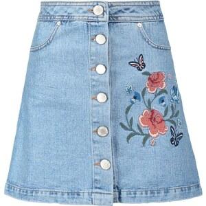Miss Selfridge Jupe en jean mid denim