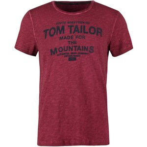TOM TAILOR Tshirt imprimé tile red