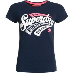 Superdry NEW PREMIUM BRAND Tshirt imprimé navy