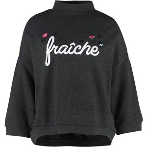 Jennyfer FRENCY Sweatshirt gris anthracite chine