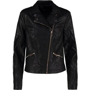 New Look SIMMIE Veste en similicuir black