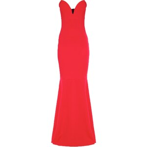 Missguided Robe en jersey red