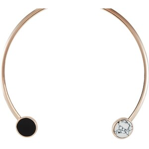 Topshop Collier black