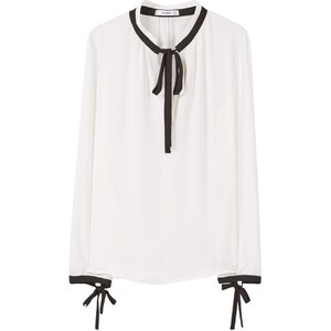 Mango BUBA Blouse off white