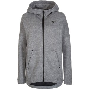 Nike Sportswear TECH FLEECE CAPE Sweat zippé carbon heather/black