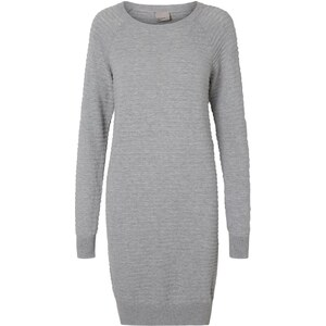 Vero Moda Robe pull light grey melange