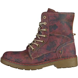 Mustang Bottines à lacets burgundy/dark taupe