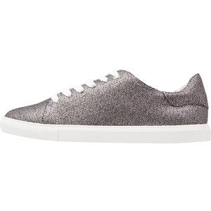 Topshop CATSEYE Baskets basses silver
