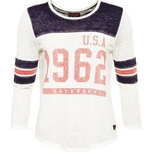 Superdry Tshirt à manches longues blue/vintage white