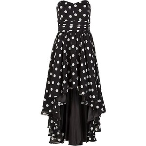 Swing Robe de soirée schwarz/cremeweiß