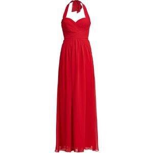 BCBGMAXAZRIA Robe longue rouge red