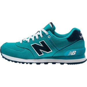New Balance WL574 Baskets basses türkis/dunkelblau