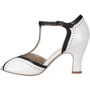 Anna Field Escarpins white/black