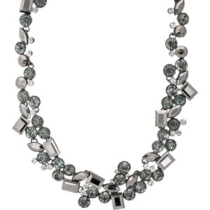 sweet deluxe DORETTE Collier gunmetal/black /crystal