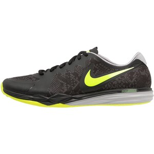 Nike Performance DUAL FUSION TR 3 Chaussures de running avec amorti black/volt/dark grey/wolf grey