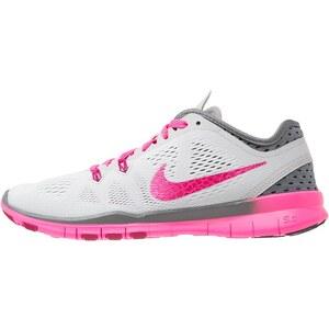 Nike Performance FREE 5.0 TR FIT 5 Chaussures d'entraînement et de fitness pure platinum/fireberry/cool grey/pink pow