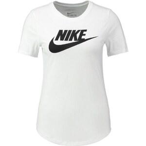 Nike Sportswear FUTURA Tshirt imprimé white/white/black