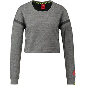 Nike Sportswear CREW Sweatshirt tumbled grey/bright crimson