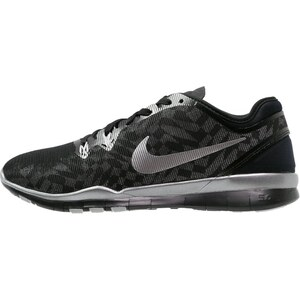 Nike Performance FREE 5.0 TR FIT 5 Chaussures d'entraînement et de fitness black/metallic silver/flat silver