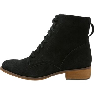Pier One Bottines à lacets black