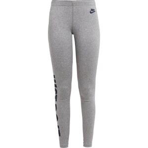 Nike Sportswear LEGASEE Leggings gris/bleu foncé