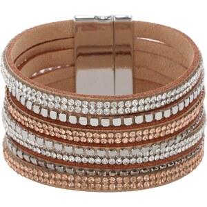 sweet deluxe RISING SUN Bracelet silber/crystal/topaz