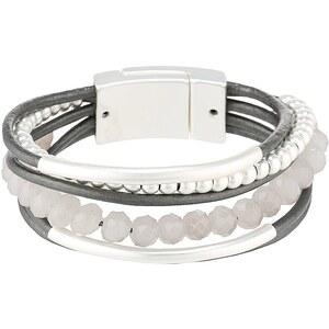sweet deluxe RABEA Bracelet mattsilber/grau