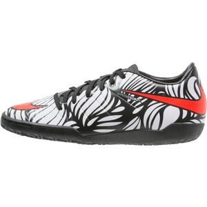 Nike Performance HYPERVENOM PHELON II NJR IC Chaussures de foot en salle noir/blanc/rouge