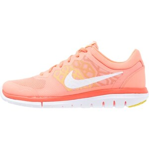 Nike Performance FLEX RUN 2015 Chaussures de running compétition atomic pink/white/hyper orange/optic yellow