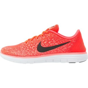 Nike Performance FREE RUN DISTANCE Chaussures de course neutres bright crimson/black/hyper orange/white