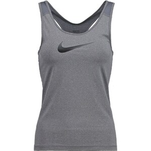 Nike Performance PRO DRY Tshirt de sport dark grey heather/black