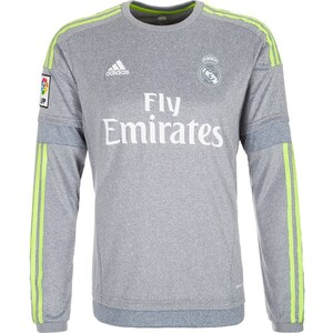 adidas Performance REAL MADRID AWAY 2015/2016 Article de supporter grey/solar yellow