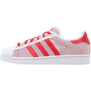 adidas Originals SUPERSTAR ADICOLOR Baskets basses white/collegiate red