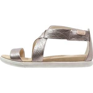 ecco Sandales classiques / Spartiates warm grey metallic