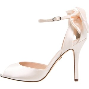 Nina Shoes MILEENA Escarpins à bout ouvert ivory