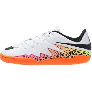 Nike Performance HYPERVENOM PHELON II IC Chaussures de foot en salle white/black/total orange/volt/pink blast