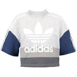 adidas Originals Sweatshirt collegiate navy/light grey heather/white
