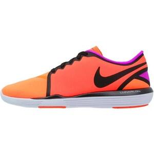 Nike Performance LUNAR SCULPT Chaussures d'entraînement et de fitness total crimson/black/total orange/hyper violet