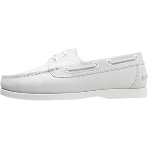 Pier One Chaussures à lacets white