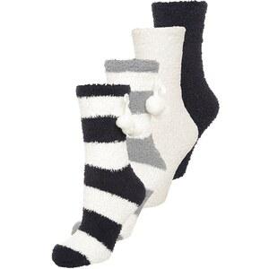 CALANDO 4 PACK Chaussettes white/black/grey