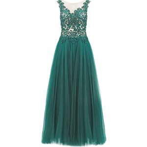 Luxuar Fashion Robe de cocktail emeraldgrün