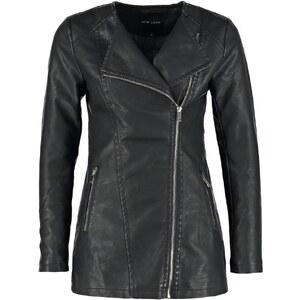 New Look Veste en similicuir black