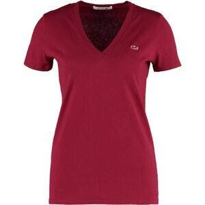 Lacoste Tshirt basique bordeaux