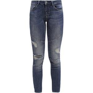 ONLY ONLCARRIE Jeans Skinny dark blue denim
