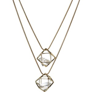 sweet deluxe CARDA Collier goldcoloured/crystal
