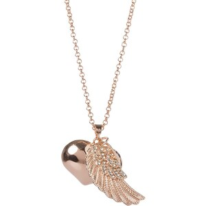 sweet deluxe HAPPY Collier rosegoldcoloured/cry