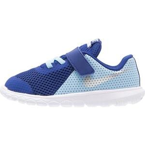 Nike Performance FLEX EXPERIENCE 5 Chaussures de course neutres bluecap/metallic silver/deep royal blue/white
