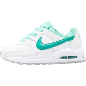 Nike Sportswear AIR MAX COMMAND Baskets basses white/clear jade/hyper turquoise